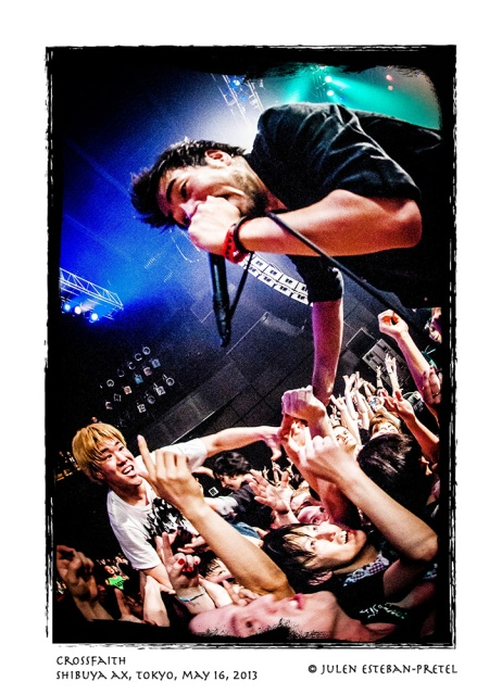 CROSSFAITH @ Shibuya AX - 130516 - Photo by Julen Esteban-Pretel - 2