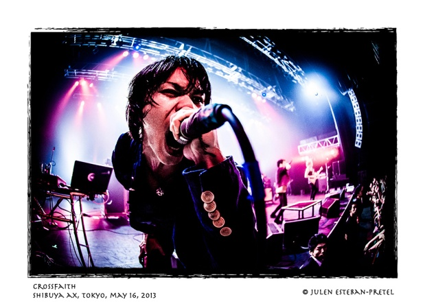CROSSFAITH @ Shibuya AX - 130516 - Photo by Julen Esteban-Pretel - 3
